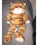 "Build a Bear Workshop 18"" stripped Yellow Cat Tabby Cat Plush Stuffed Ki... - $11.87"