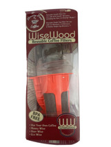 Wisewood Reusable Coffee Filters- Keurig 2.0 Compatible- BPA Free - $8.47