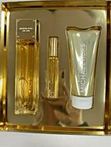 Michael Kors Sexy Amber 3 PCS SET 3.4 Oz Eau de Parfum Spray,MINI 10 ML,3.4 B/L  - $89.99
