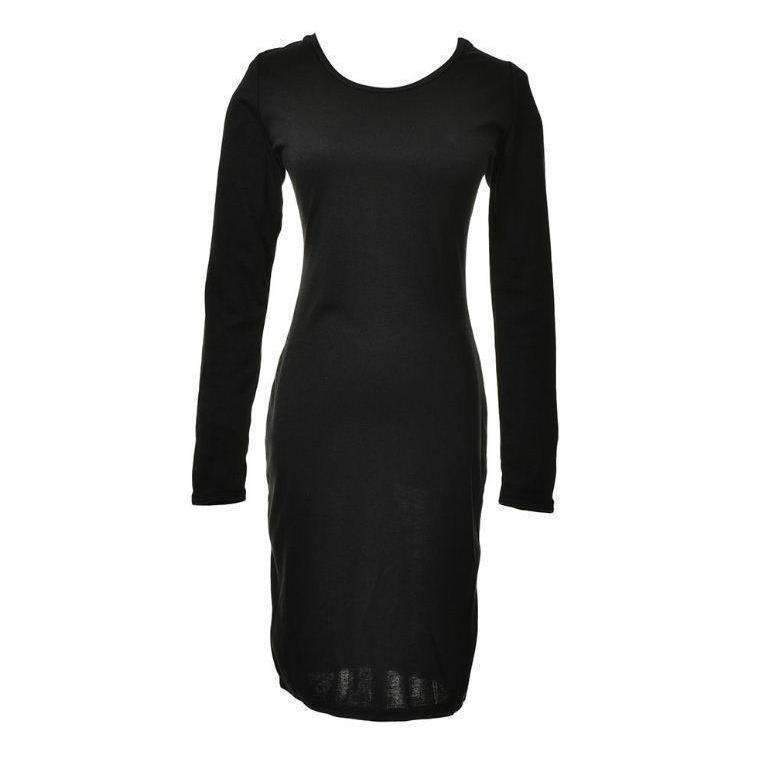 Hollow Out Lace Up Women Sexy Bodycon Pencil Dress