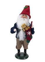 Byers' Choice Gnome with Stocking Figurine 3199 from The Santa Families ... - $125.17