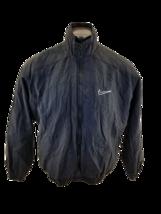 Nike Windbreaker Track Jacket Full Zip Youth  Sz L Nylon Bomber Rain Coat  - $23.48