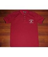 Alabama Crimson Tide Football Team Logo NCAA SEC Active Men's Polo Golf ... - $34.64