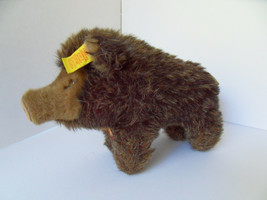 Steiff boar  pig all Ids stuffed animal made in Germany 2400 - $66.49