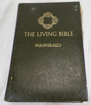 THE LIVING BIBLE PARAPHRASED 26th PRINTING TYNDALE HOUSE PUBLISHERS 1973... - $9.99