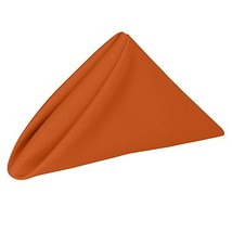 Ultimate Textile -3 Dozen- 17 x 17-Inch Polyester Cloth Napkins, Orange - $62.49