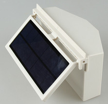 Ivory Solar Powered Car Front Rear window Air Vent Ventilation Cool Cool... - $24.40
