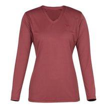 Tuffrider Ladies Taylor Tee Long Sleeve T-Shirt Wine Extra Small image 1