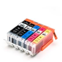 Compatible Ink Cartridge 5PK PGI550 PGI-550 CLI-551 For PIXMA - $31.77