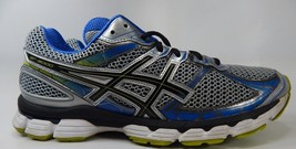 Asics GT 3000 v 2 Size US 13 M (D) EU 48 Men's Running Shoes Silver Blue T400N