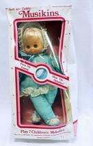 Vintage Sealed 1983 Uneeda Musikins Baby Doll Plays 7 Melodies - $29.69