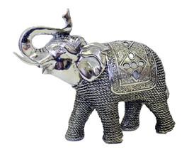 Alirina Thai Elephant with Trunk Raised Collectible Figurines Decor - $48.46