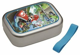 Skater aluminum lunch box 370ml Mario Kart 8 Super Mario lunch box ALB5NV - $42.34 CAD
