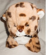 Vtg 1982 Gund Tamba Leopard Cheetah Kitten Cub Plush Stuffed Animal Tags... - $17.98