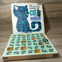 Parker Brothers Game of Cat and Mouse 1964 Board Game Complete - $9.90