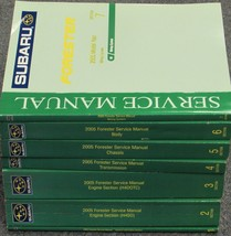 2005 Subaru Forester Service Repair Shop Workshop Manual SET OEM Factory - $247.45
