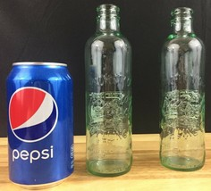 Property of Coca-Cola Bottling Co Bottles Green Glass - 2 Bottles - 9.5 oz. - $9.89