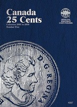 Canada 25 Cents No. 5, 2001-2009, Whitman Coin Folder - $5.75