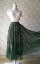 ROYAL BLUE High Waist Tulle Skirt Bridal Bridesmaid Skirt Layer Full Tulle Skirt image 11