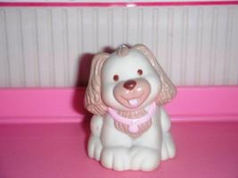 Fisher Price Loving Family Dream Dollhouse Tan Cream Puppy Dog Cocker Sp... - $119,11 MXN