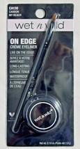 Wet n Wild Fergie On Edge Creme Eyeliner Waterproof, CA130 Carbon My Reach - $8.79