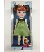 """Disney Store Collection 2 The Frozen Movie 15"""" YOUNG ANNA TODDLER Doll A... - $29.99"""