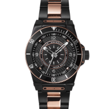 Hydrogen Watch Sportivo Black-Rose Gold Link - £484.66 GBP