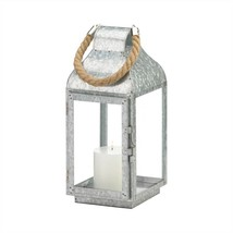 Galvanized Farmhouse Candle Lantern - $17.70