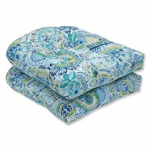 Pillow Perfect Outdoor | Indoor Gilford Baltic Wicker Seat Cushion (Set ... - £42.06 GBP