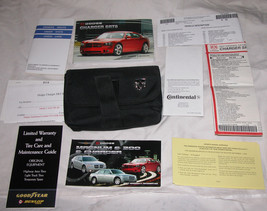 2007 07 Dodge Charger Srt 8 Oem Owners Manual Literatura con / Funda ,sin Ship - $52.55