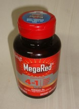 MegaRed Advanced 4 in1 500mg,Omega-3 Fish + Krill Oil 80 ct Softgels Exp... - $13.85