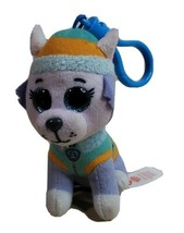"Dog Key Ring TY Beanie Boos Everest Stuffed Animal 4""  - $9.79"