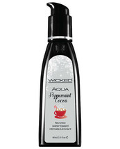 WICKED SENSUAL CARE WATERBASED LUBRICANT PEPPERMINT COCOA SENSATION LUBE... - $15.67