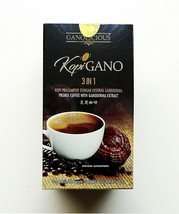 3 Boxes Gano Excel 3 in 1 Coffee Ganoderma Reishi Lingzhi Instant Gourme... - $47.42