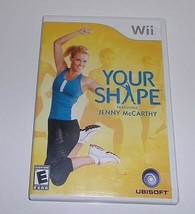 Your Shape: Featuring Jenny McCarthy (Nintendo Wii, 2009) - $5.36