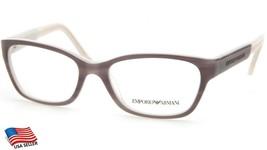 New Emporio Armani Ea 3004 5048 Grey Eyeglasses Frame 50-16-135 B33mm - $63.69
