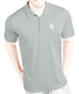 Michigan State Spartans Polo Shirt by Champion in Sz. XL in Lt. Gray - $24.74