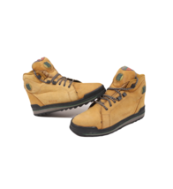 Vintage 90s Reebok Boks Womens 9 Mens 7.5 Suede Hiking Ankle Boots Wheat... - $89.05