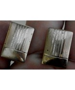 Nice Pair of Vintage Gold Tone Cufflinks, VERY GOOD CONDITION - $6.92