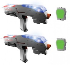REFURBISHED Laser X Real-Life Laser Gaming Experience Set For Two Players - $35.59