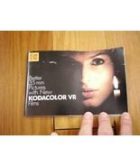 Vintage 1983 KODAK Kodacolor VR 35mm Color Film Advert Booklet Guide Pam... - $15.19