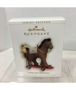 2006 Pony for Christmas #9 Hallmark Christmas Tree Ornament MIB Price Ta... - $28.22