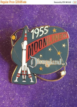 ON SALE 1998 Disneyland Tomorrowland Moonliner Attraction Series Pin Rare DLR - $25.46
