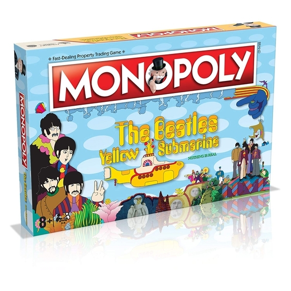 The beatles yellow submarine monopoly board game 50th anniversary