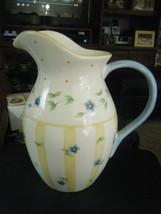 Pfaltzgraff Melissa Pattern Large Ceramic 96 oz. Pitcher  - $49.49