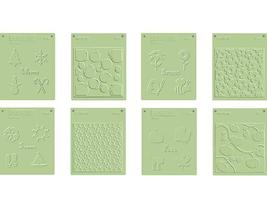 Fiskars Embossing Plate Set, Seasonal 8-Pack #04-001428-B