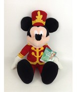 "Macys Strike up the Holidays with Mickey Singing 21"" Plush Stuffed Toy w... - $26.68"