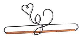 Ackfieldwire Herz mit Dübel 30.5cm Aufhänger - $16.01
