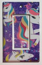 Siwa Unicorn Light Switch Toggle GFI Outlet wall Cover Plate Home Decor image 9