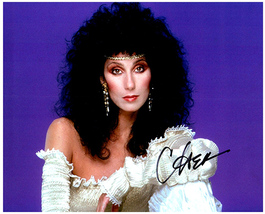 CHER Authentic  Original  SIGNED AUTOGRAPHED PHOTO w/ COA - $75.00